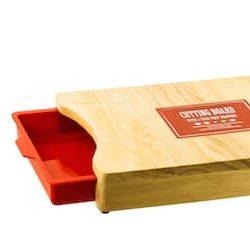 Çekmeceli kesme tahtası
