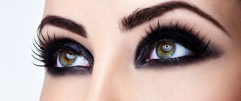 Buğulu Göz Makyajı