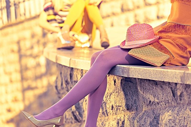 Yazlık Elbise Opak Çorap