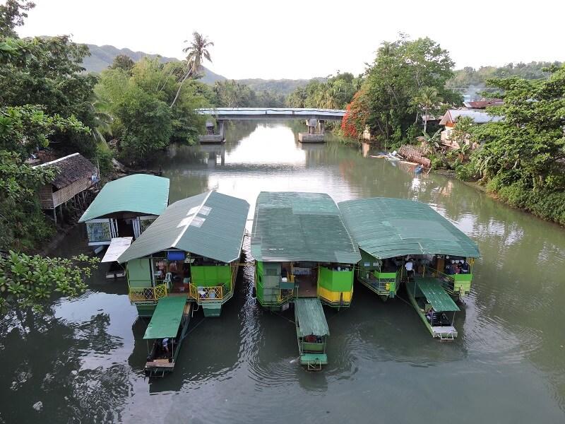 Bohol Adası Zipline