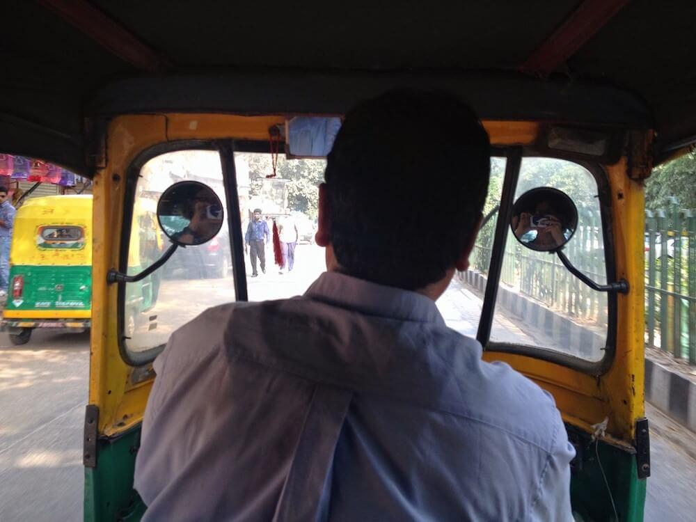 Yeni Delhi Rickshaw