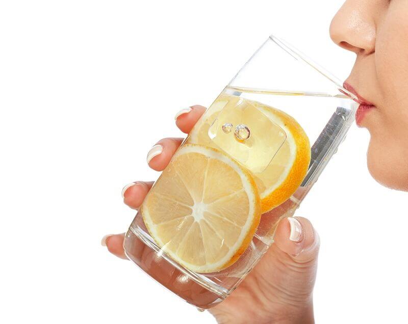 Limonlu Su Potasyum