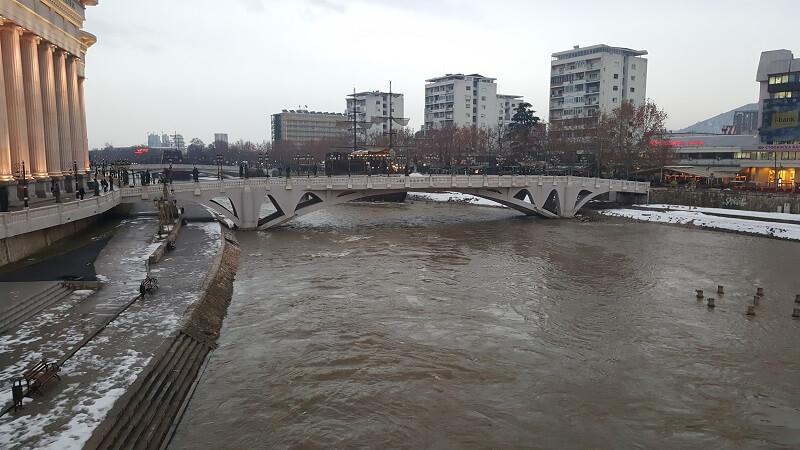 Üsküp Vardar Nehri