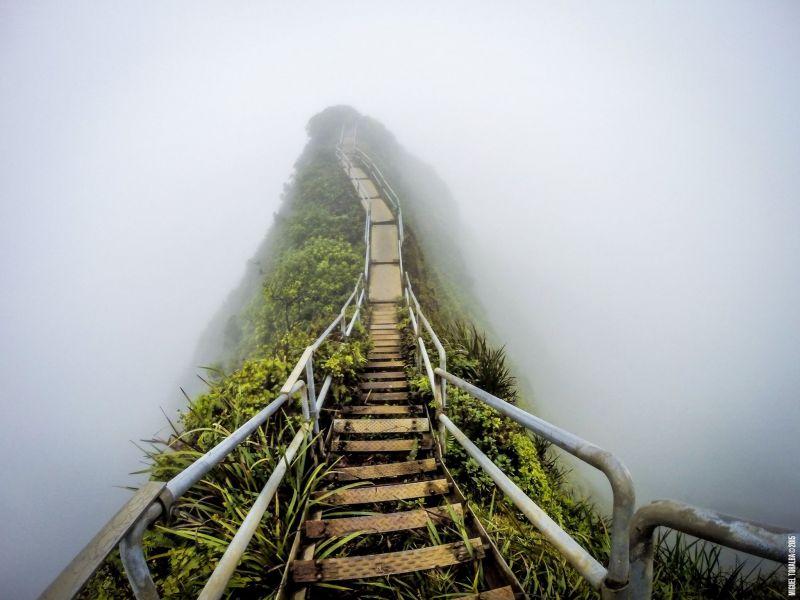 Haiku Stairs Merdivenler