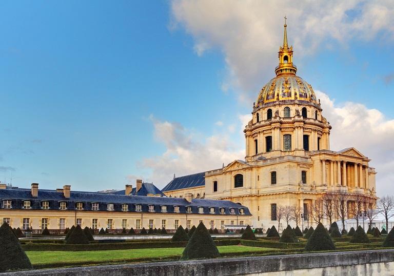 Paris Les İnvalides Altın Kubbesi