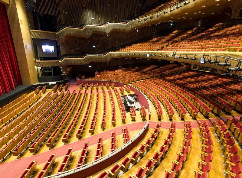 En İyi Tiyatro Sahneleri İstanbul Zorlu Center PSM