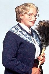 Baba Figürleri Mrs. Doubtfire