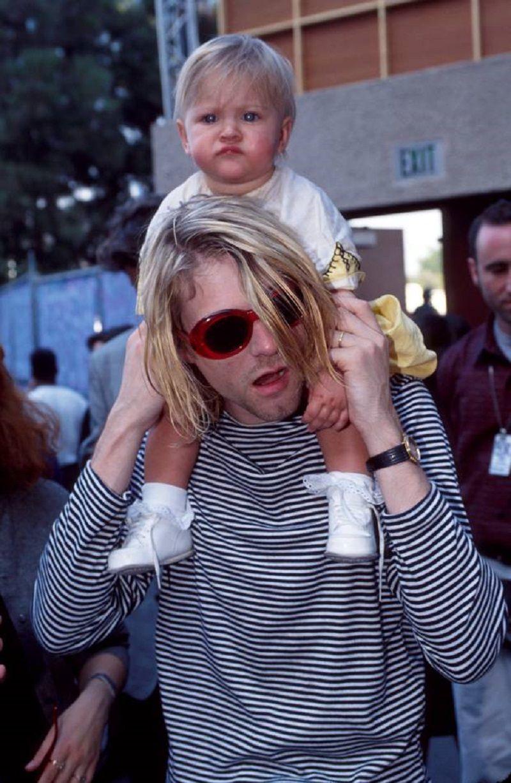Babalar Günü Ünlü Babalar Kurt Cobain