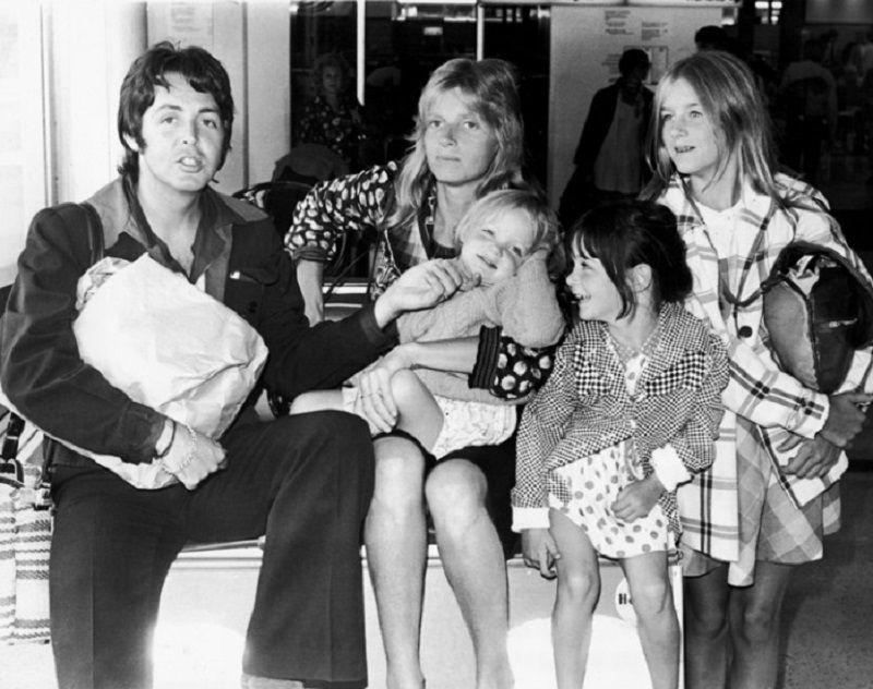 Babalar Günü Ünlü Babalar McCartney
