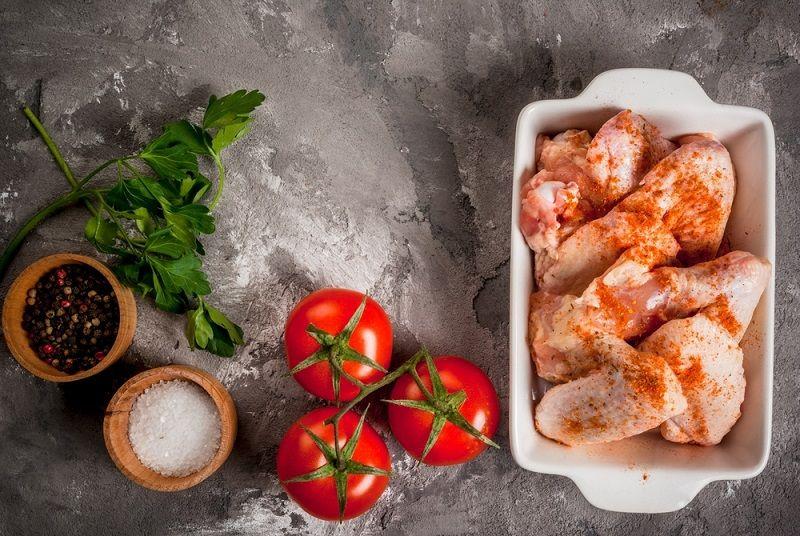Fırında Sebzeli Tavuk Yapılışı