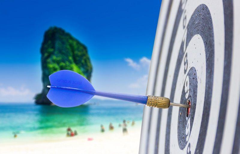 Beach Oyunları Dart