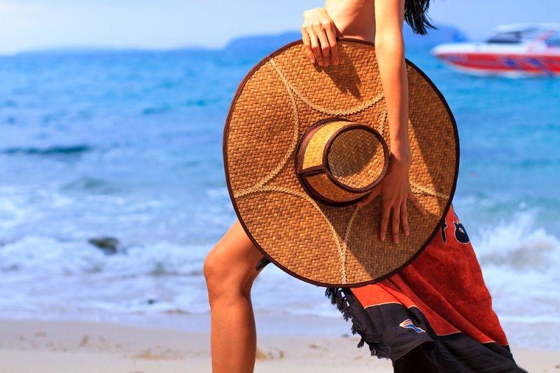 Plaj Çantası Şapka