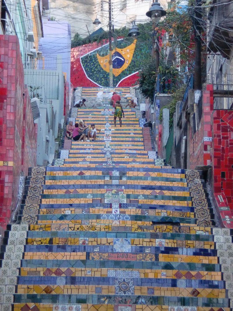 Rio de Janeiro Selaron Merdivenleri