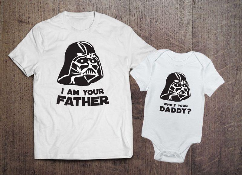 Bebek Kıyafetleri Uyumlu Tişörtler
