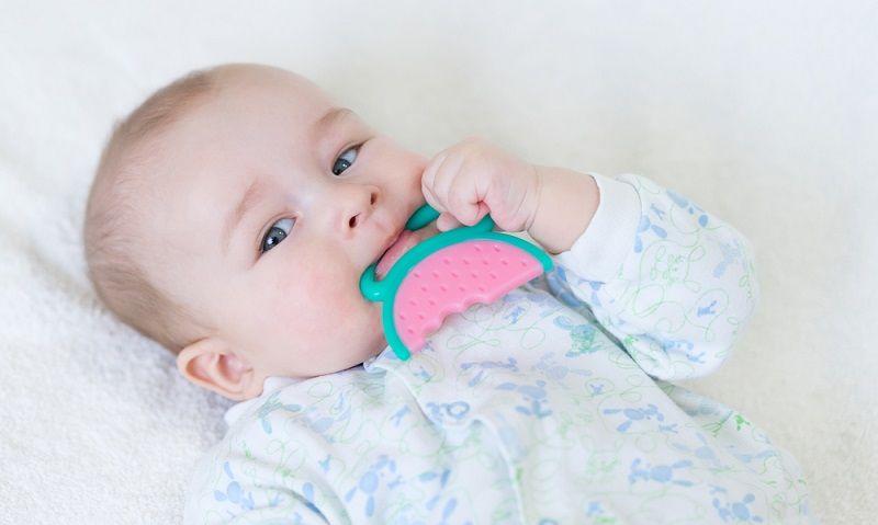 Bebeklerde Diş Çıkarma Emzik, Çıngırak, Diş Kaşıma