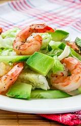 Yaz Yemekleri Avocado Salatası