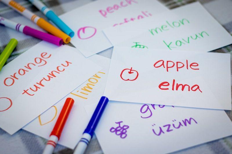 İngilizce Öğrenme Hafıza Kartları