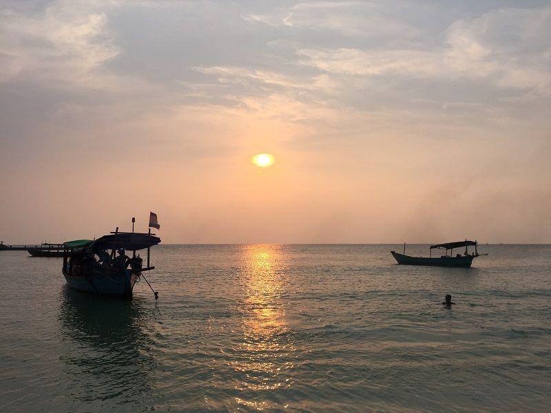 Kamboçya Koh Rong Long Beach
