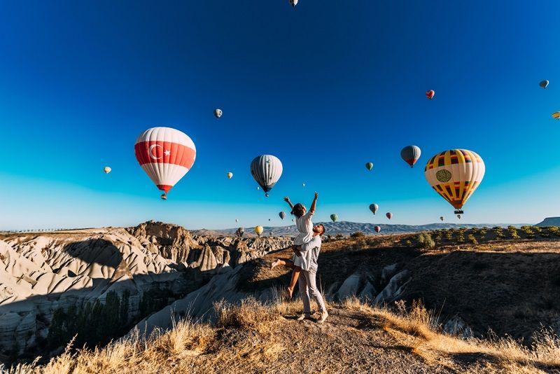 Sevgiliyle Gidilecek Yerler Kapadokya
