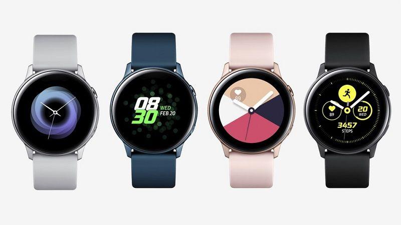 Samsung Galaxy Watch Active Teknik