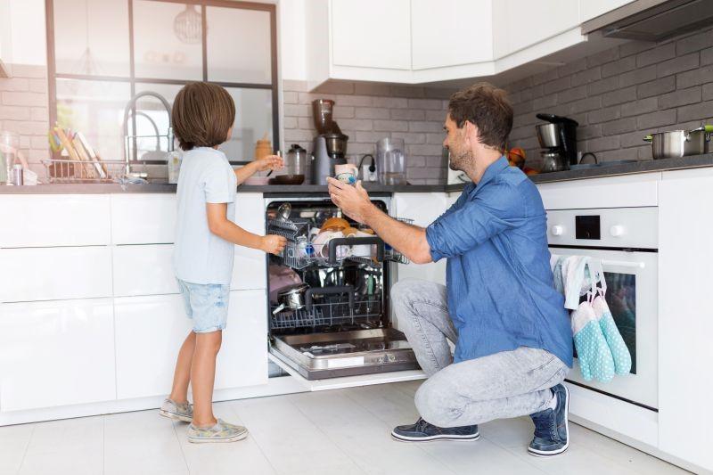 bulaşık makinesi su tasarrufu