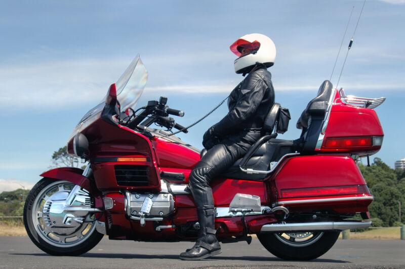 honda goldwing touring motosiklet