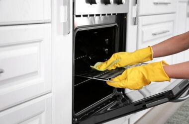 fırın nasıl temizlenir