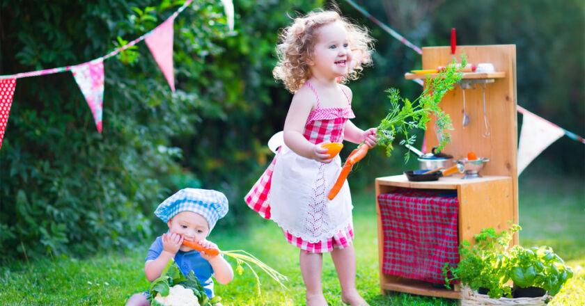 çocuklar için bahçe oyuncakları