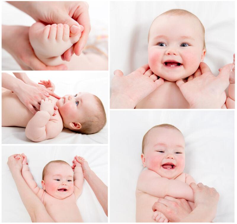 adım adım bebek masajı